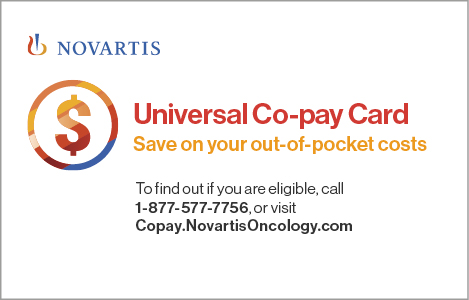 Novartis Universal Co-pay Card